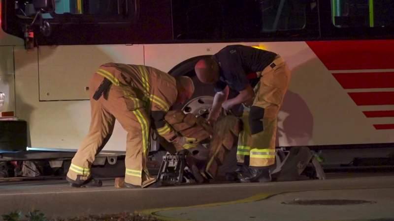 Metro bus rescue