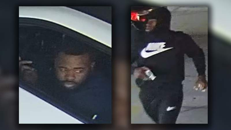 A search is underway for two men wanted in connection with an aggravated robbery.