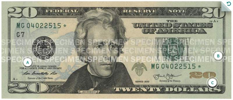 Photo of $20 Note