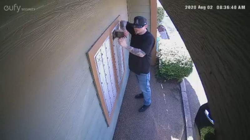 Mail theft: Search for person of interest