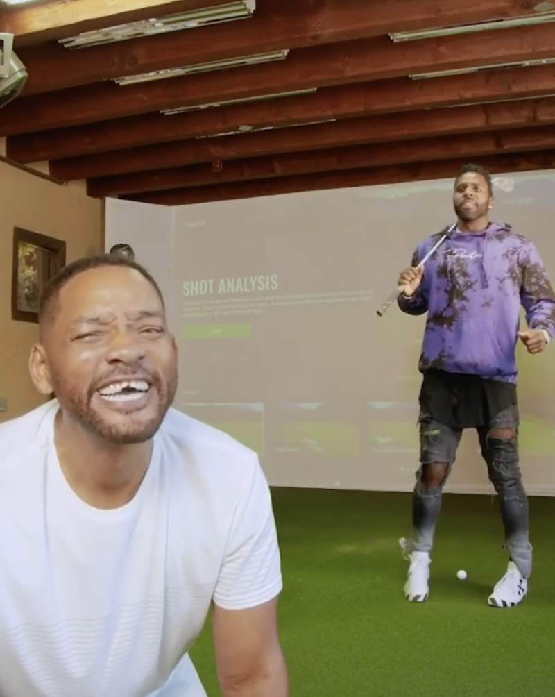 Jason Derulo and Will Smith collaborate in video.