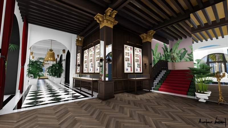 Grand Galvez Hotel renderings