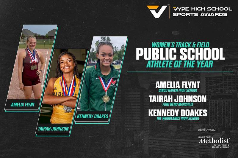 2021 VYPE Awards: Public School Women's Track & Field Athlete of the Year Finalists