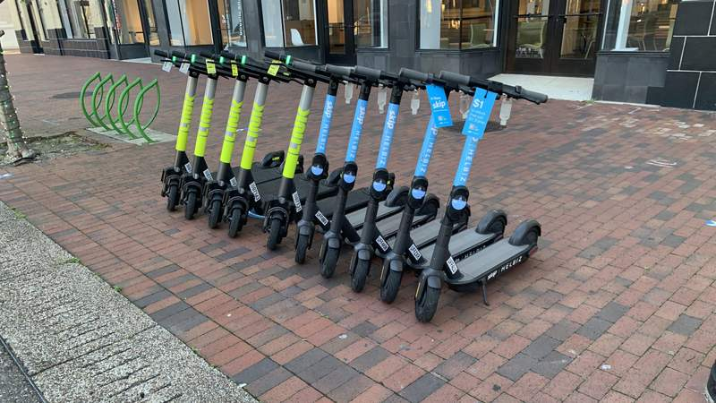 Ordinance to keep motorized scooters off sidewalks up for vote