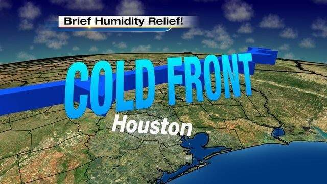 I'm expecting some humidity relief