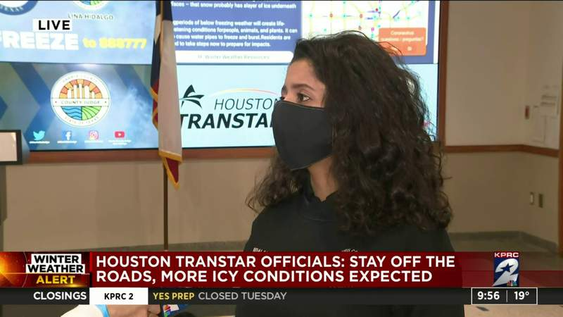 Hidalgo discusses power outages