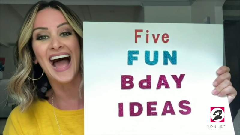 5 fun and creative ways to celebrate a birthday without leaving the house   HOUSTON LIFE   KPRC 2