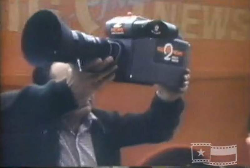 The Big 2 Instant News Camera introduced in 1974