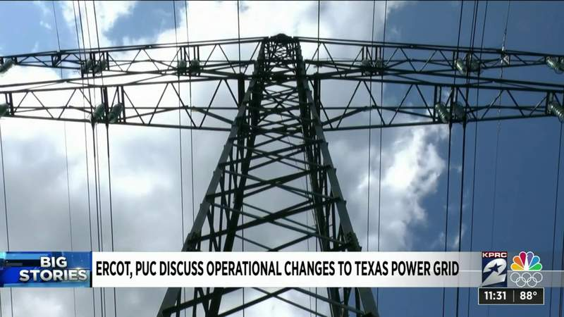ERCOT, PUC discuss operational changes to Texas power grid ahead of hottest days of summer
