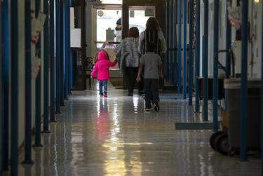 Private schools weighing whether to reopen their campuses as the coronavirus pandemic continues face a different calculus than their public counterparts.      Miguel Gutierrez Jr./The Texas Tribune