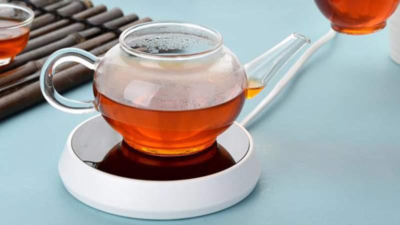 Say goodbye to cold coffee with this electric smart mug warmer.