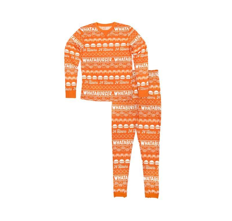 Whataburger holiday pajamas