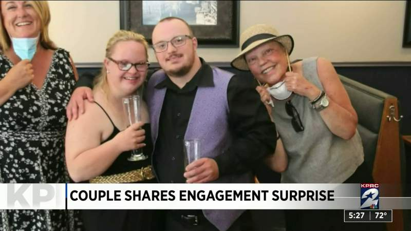 One Good Thing: Couples shares engagement surprise