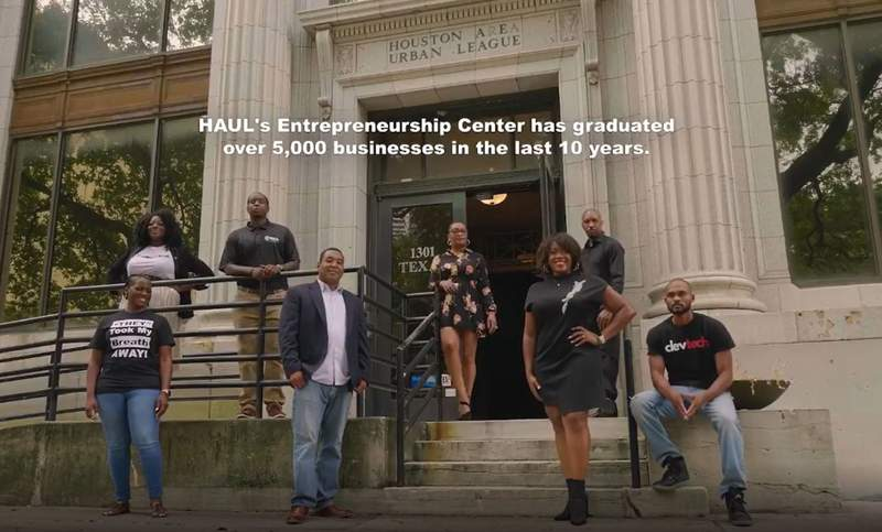 A new video highlights Black entrepreneurs and businesses in the Houston area. (Courtesy of Twice Media Productions)