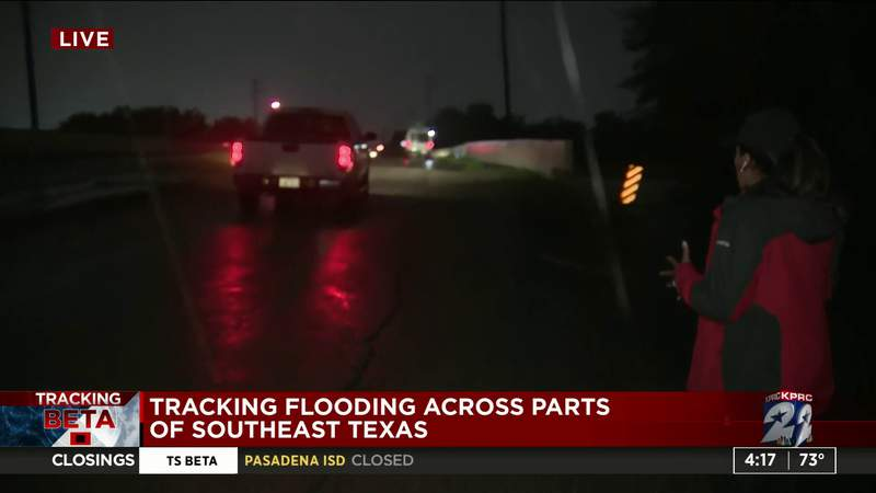 Flash Flood Warning in effect for Houston areas, including Pearland