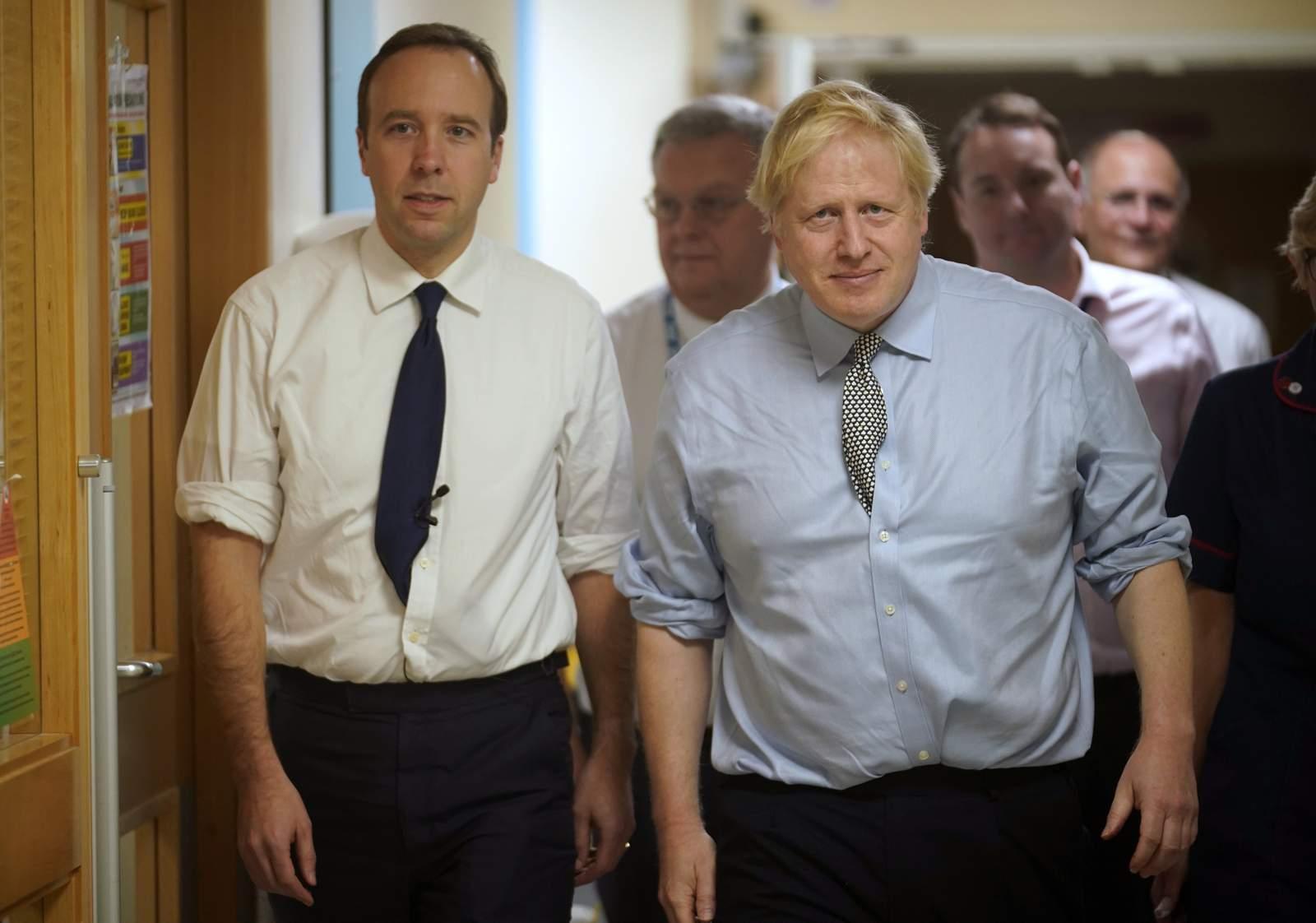 Segundo miembro del gabinete del Reino Unido se une a Johnson para tener síntomas de virus 41