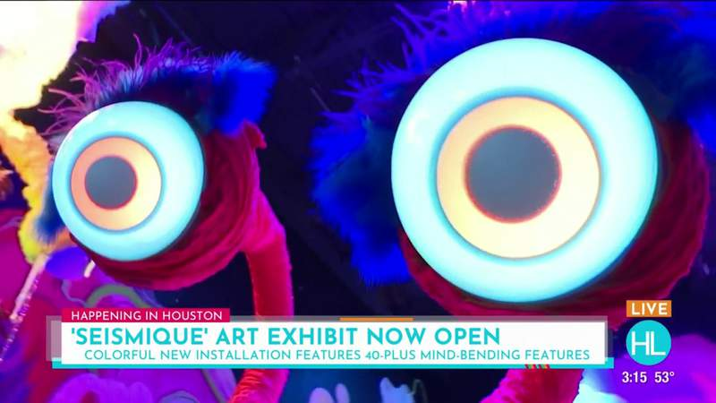Seismique, a new 40,000-square-foot immersive art museum, now open on Houston's west side | HOUSTON LIFE | KPRC 2