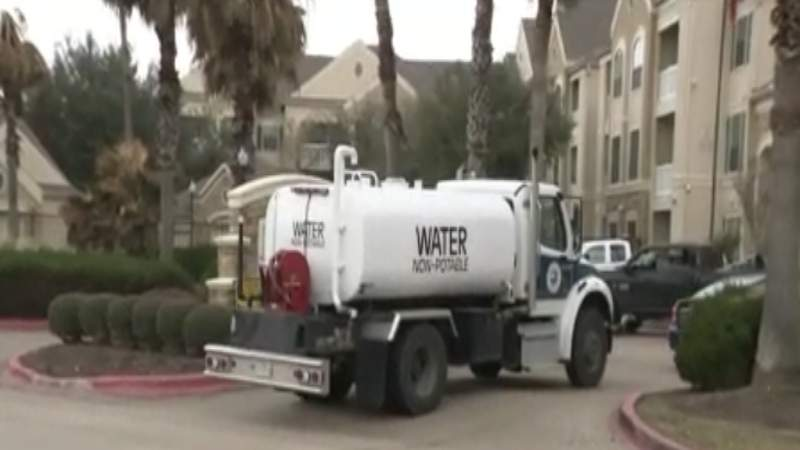 Water issues at apartment complex for seniors