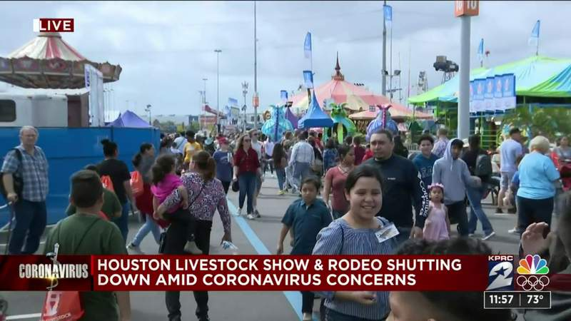 Pearland resident reacts to Houston Livestock Show & Rodeo shutting down amid coronavirus concerns