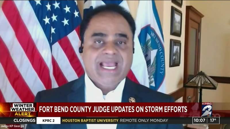 Fort Bend County Judge updates on storm efforts