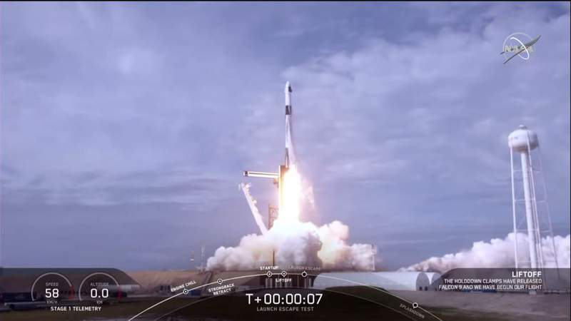 SpaceX January Launch