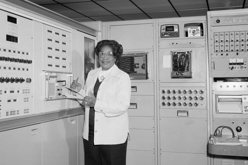 This 1977 photo made available by NASA shows engineer Mary W. Jackson at NASA's Langley Research Center in Hampton, Va. On Wednesday, June 24, 2020, NASA Administrator Jim Bridenstine announced the agencys headquarters building in Washington, D.C., will be named after Jackson, the first African American female engineer at the space agency. (Robert Nye/NASA via AP)