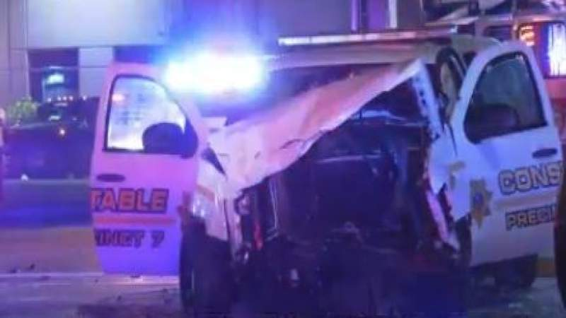 Pct. 7 deputy constable injured in crash in SE Houston: Authorities