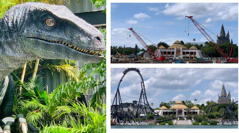 Universal Orlando's Jurassic World: Velocicoaster