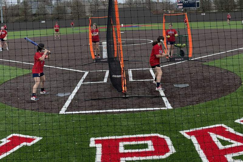 John Paul II Softball dominates their way into district play