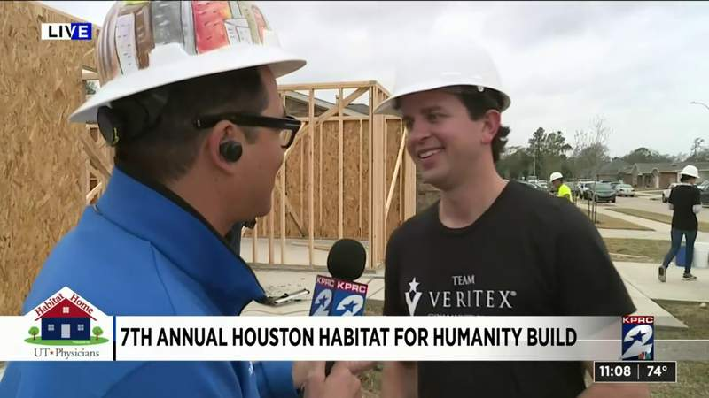 Day 3 of Habitat for Humanity build