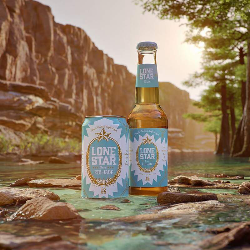 """New Mexican-style lager """"Rio Jade"""" will debut in select stores in May."""