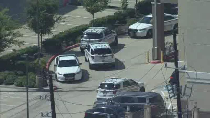 Suspect wanted for family violence barricaded in a northwest Harris County hotel on Oct. 2, 2020, deputies said.
