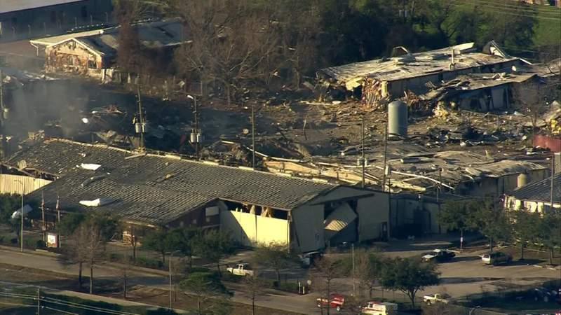 Officials provide update on northwest Houston explosion