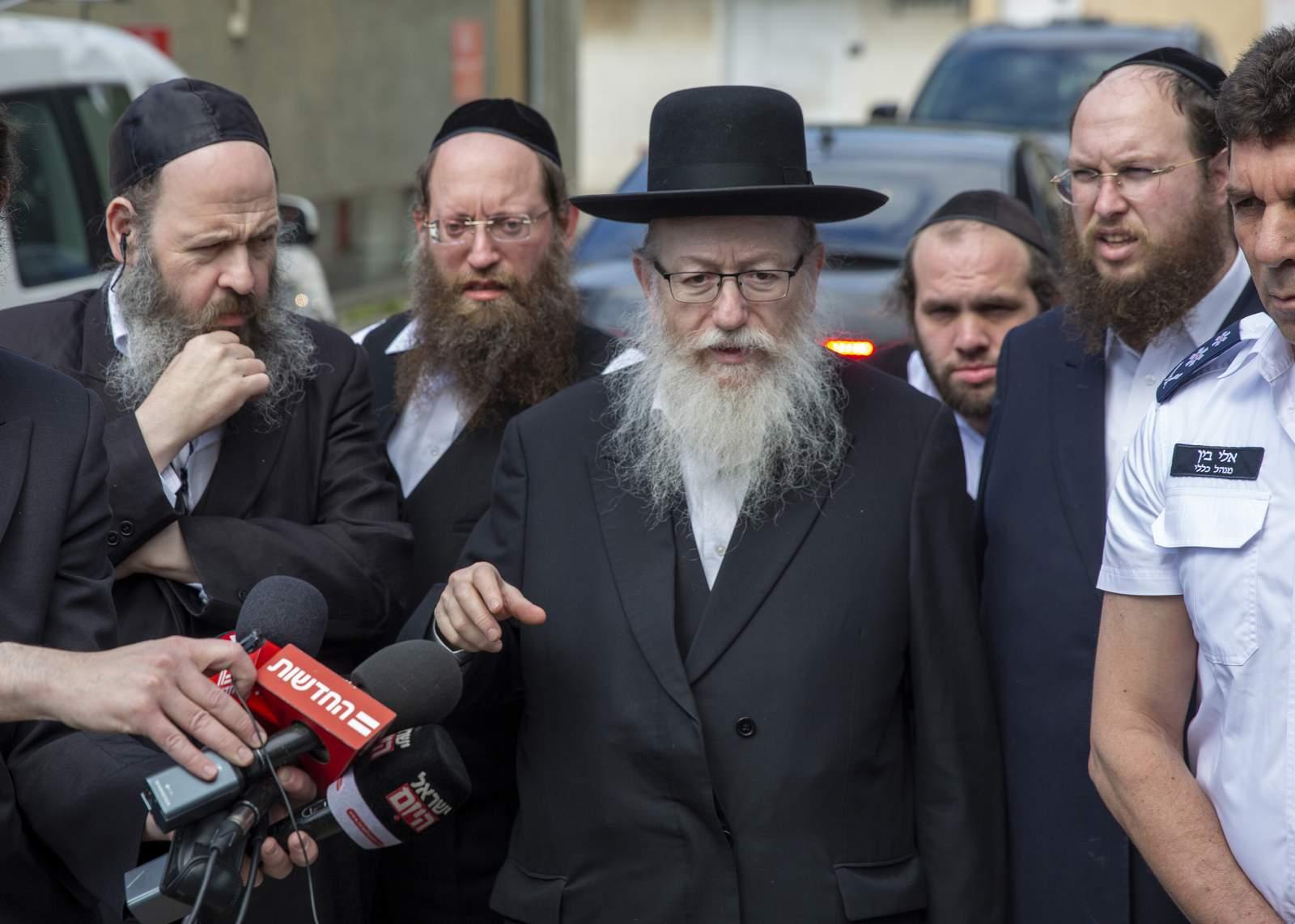 El ministro de salud de Israel tiene virus y altos funcionarios para aislar 40
