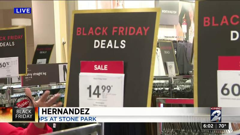 Holiday shoppers head out for Black Friday deals
