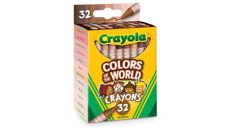 Crayola will release new packs of crayons to represent the world's skin tones, the company revealed.