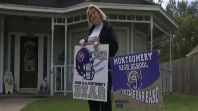 No school spirit signs allowed in Montgomery neighborhood