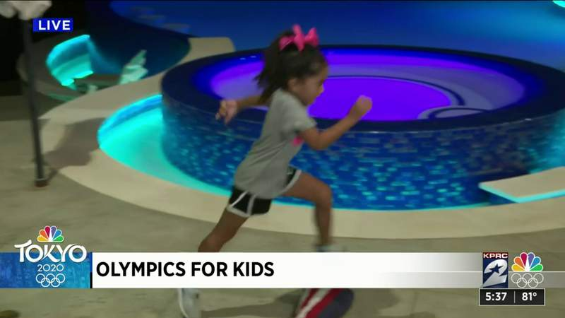 Safe way for kids to enjoy Olympic games