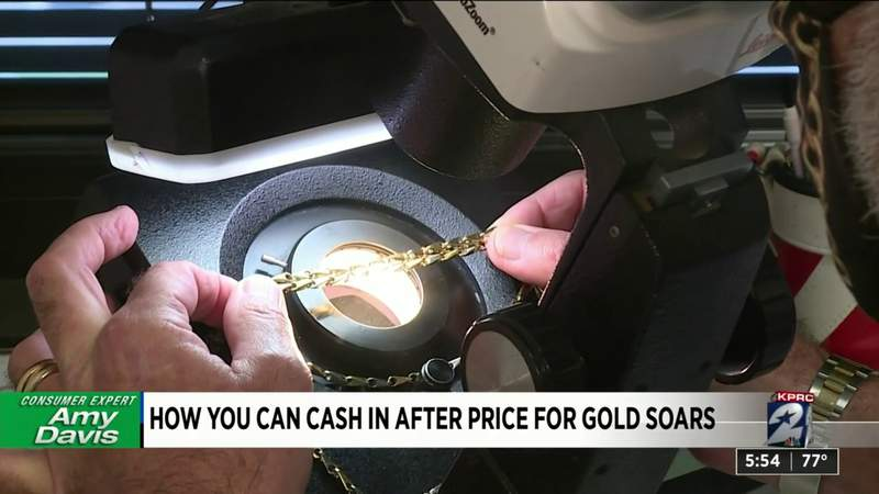 How you can cash in after price for gold soars