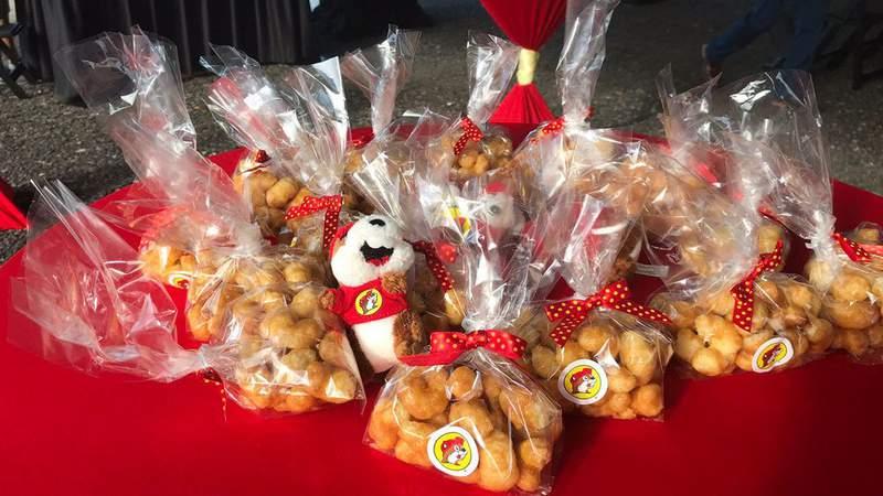 Buc-ee's Beaver nuggets.