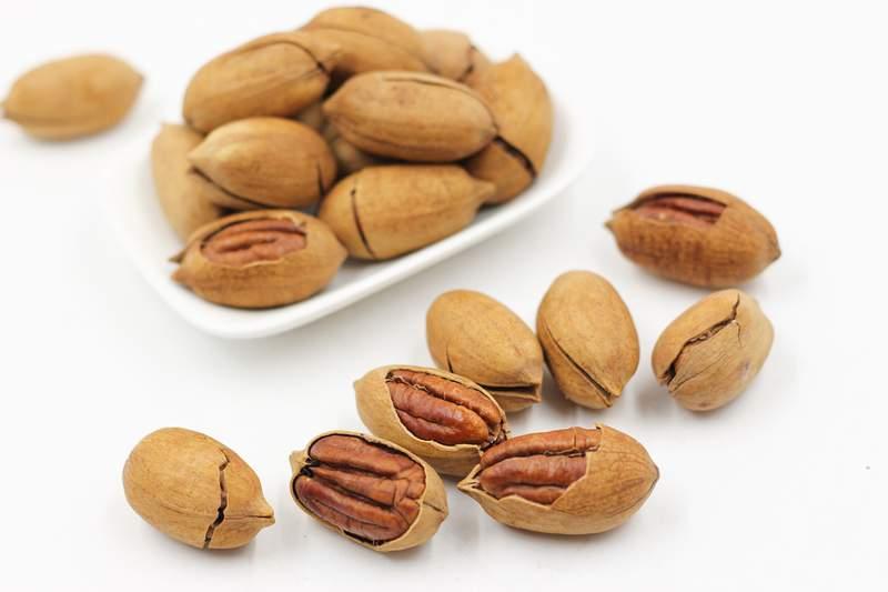 Stock image of pecans