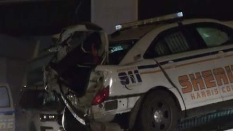 3 deputies injured after chain-reaction crash during traffic stop: HCSO