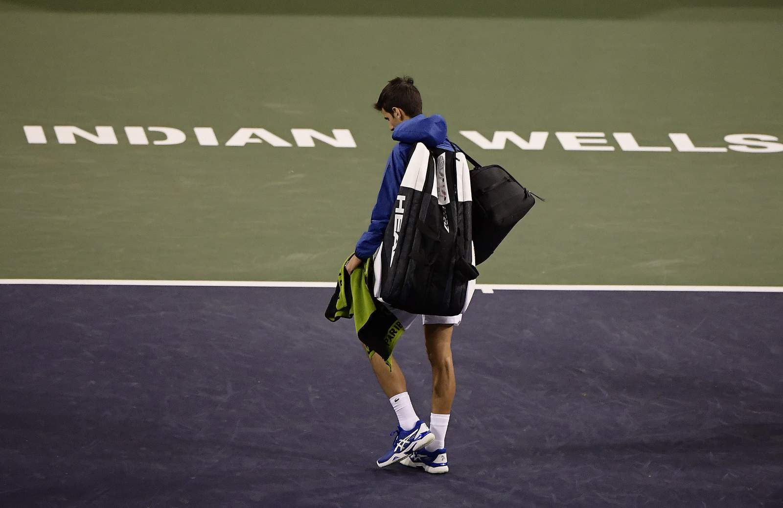 El aplazamiento del torneo de tenis trata un golpe económico 26