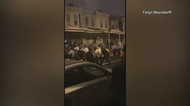 Officer hurt, multiple injured in Philadelphia riots