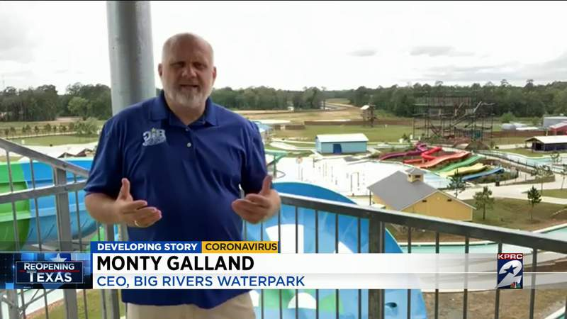 Houston-area water parks preparing to reopen