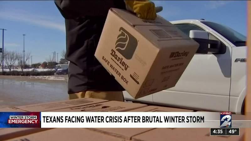 Texans facing water crises after brutal winter storm