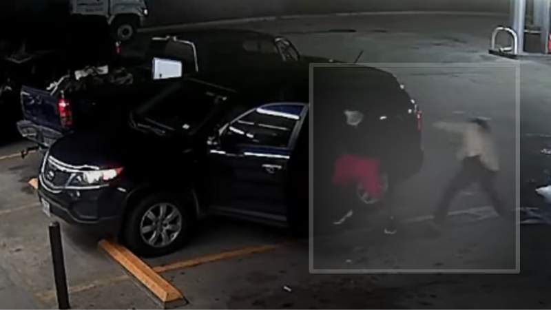 Still images from HPD Surveillance Video of suspects in northwest Houston robbery