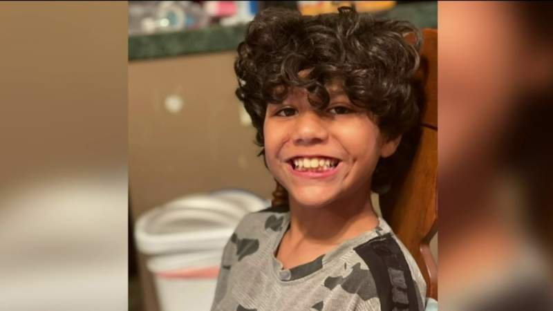 Coast guard searching for missing 10-year-old boy