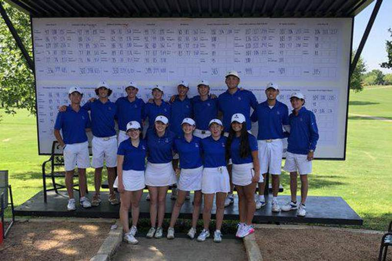 Trinity Christian Addison Boys Golf wins TAPPS 6A Golf State Title