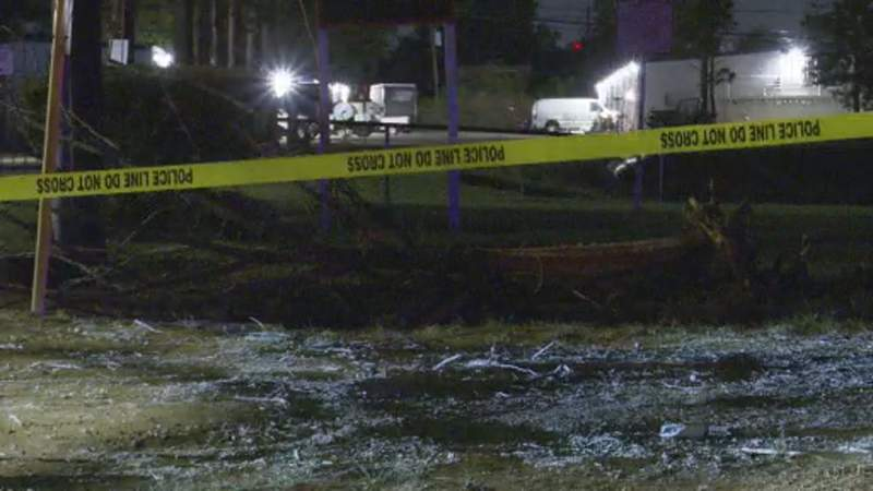 HPD: Driver dies in fiery crash after slamming into several trees